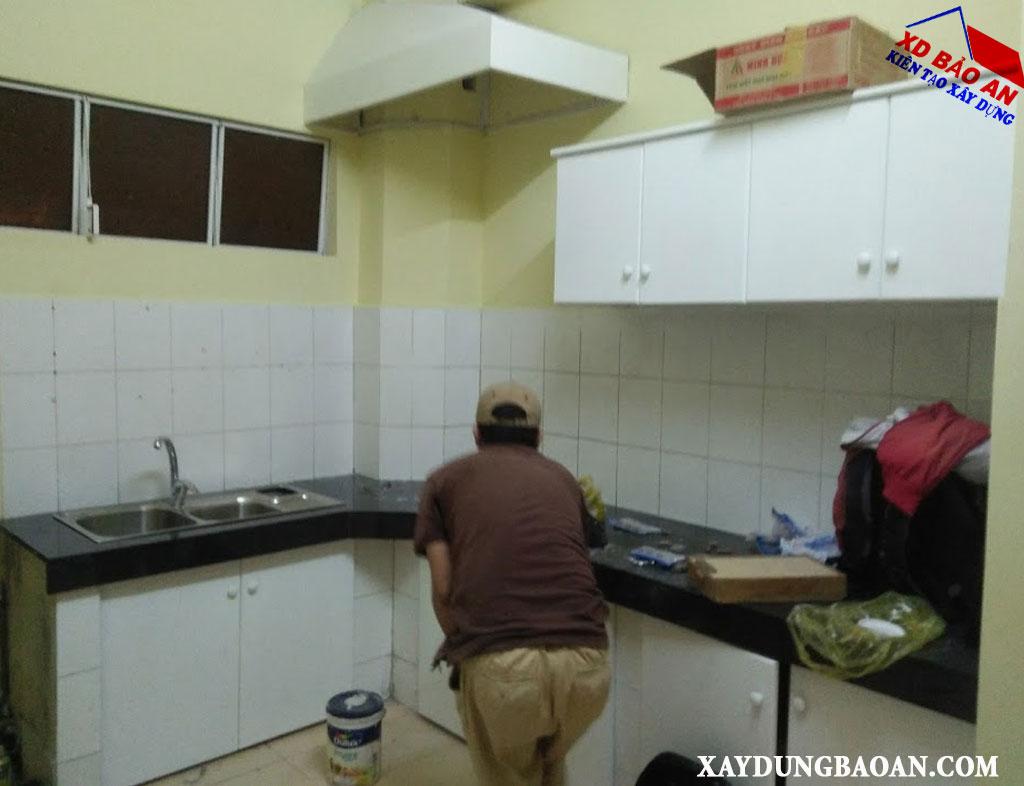 Dịch vụ sơn chung cư