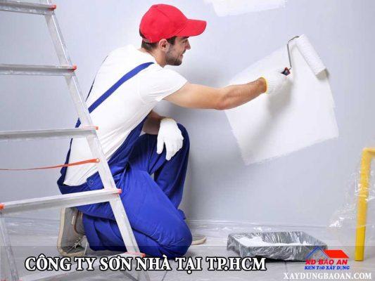 Công ty sơn nhà tại tphcm