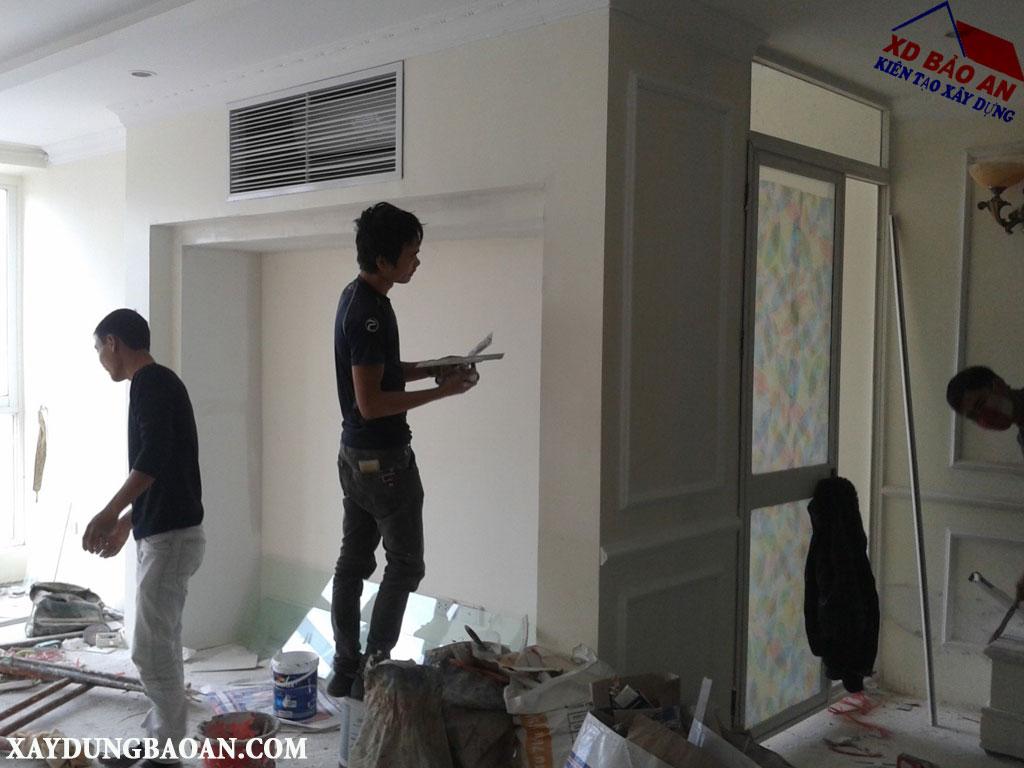 Dịch vụ sơn lại nhà