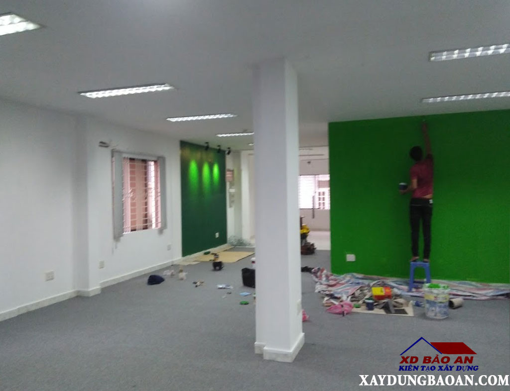 Dịch vụ sơn lại văn phòng