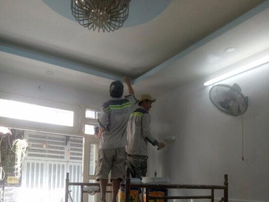 dịch vụ sơn tường nhà