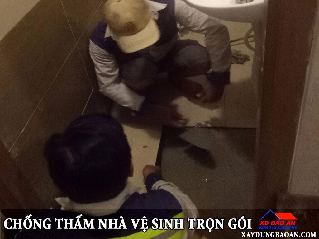 chống thấm nhà vệ sinh trọn gói
