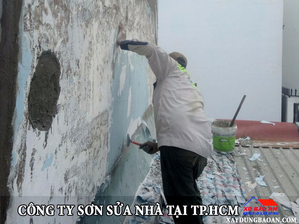 Công ty sơn sửa nhà