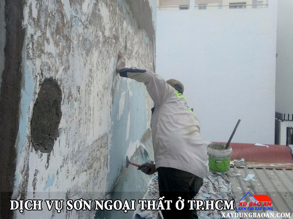 Dịch vụ sơn ngoại thất