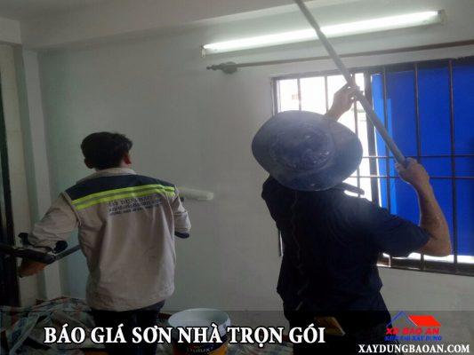 Giá sơn nhà trọn gói