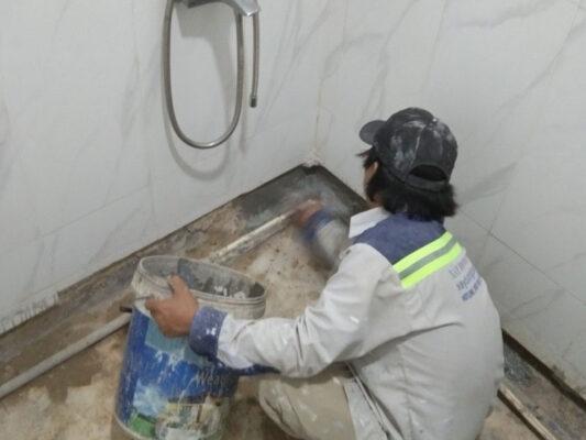 Quy trình chống thấm nhà vệ sinh trọn gói