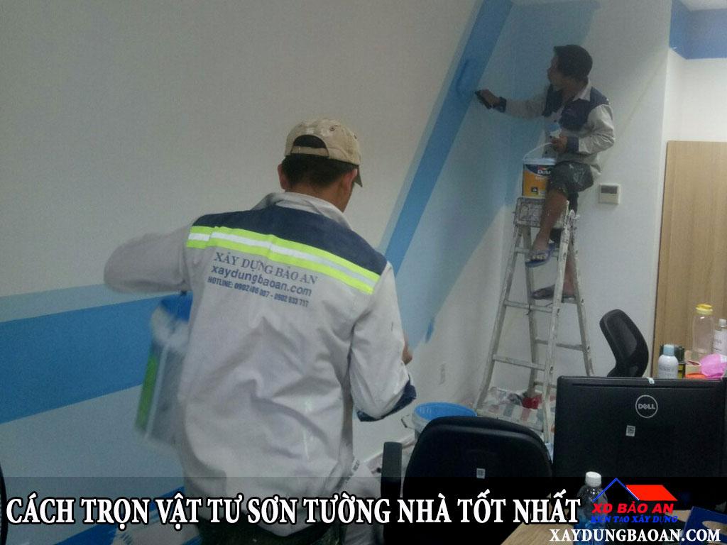Cách trọn vật tư sơn tường nhà tốt nhất?