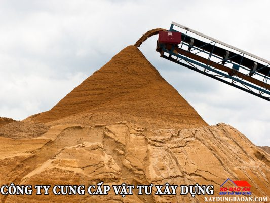 Vật tư cát xây dựng