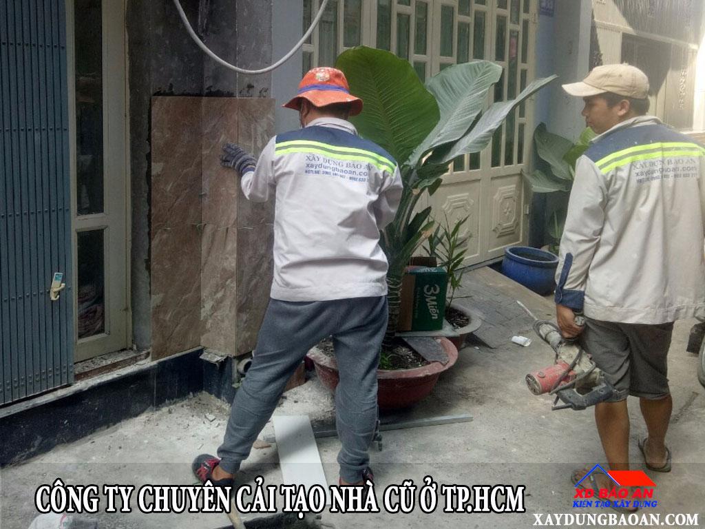 Công ty chuên cải tạo lại nhà cũ