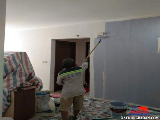 Thợ sơn nhà quận 12