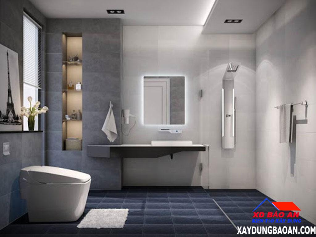 Mẫu gạch ốp lát nền phòng nhà vệ sinh đẹp nhất 2020