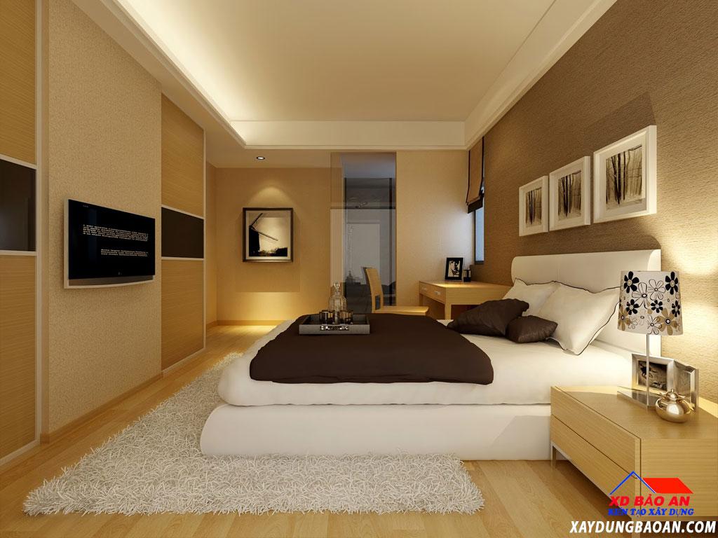 cách trang trí phòng ngủ nhỏ và gọn