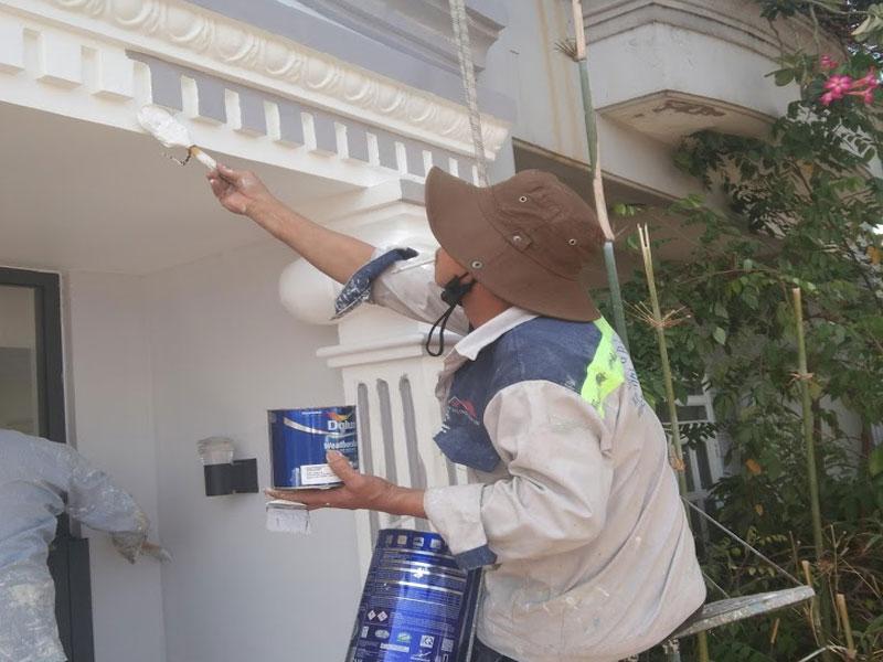 Công trình thi công chống thấm tại quận 12