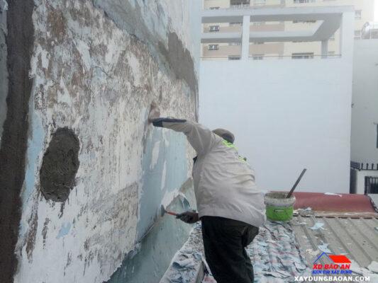 Công trình thi công chống thấm tại quận 4