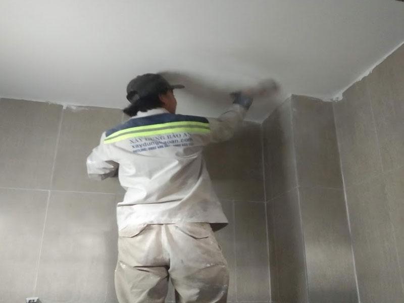 Dịch vụ chống thấm nhà tại TPHCM
