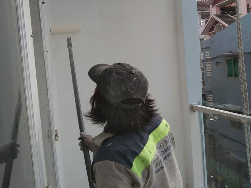 Thợ thi công chống thấm tại quận 6