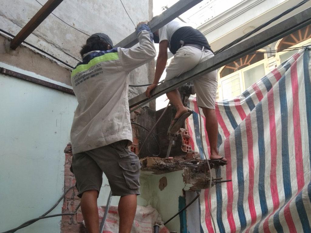 Dịch vụ sửa chữa nhà quận 1 trọn gói