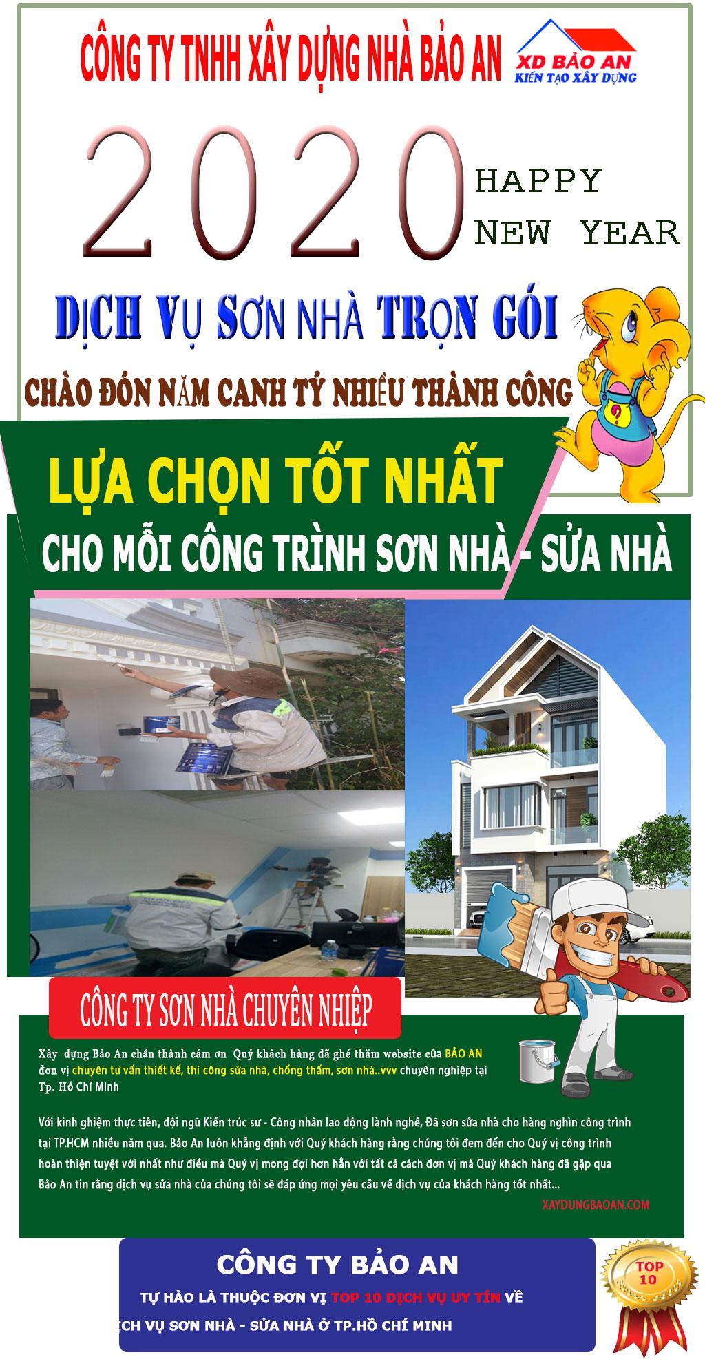Dịch vụ sơn nhà ở quận 2 giá rẻ