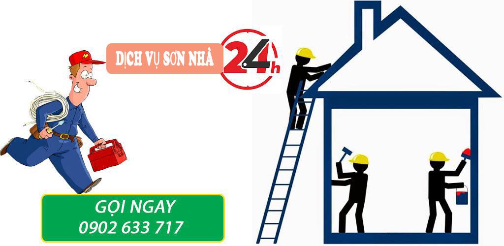 Dịch vụ sơn nhà tại quận 3 trọn gói già rẻ
