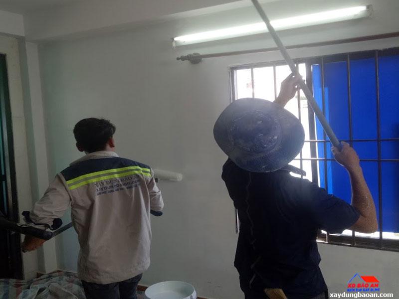 Dịch vụ sơn nhà cấp 4 đẹp