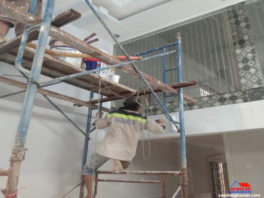 Dịch vụ sơn nhà tại quận Bình Thạnh