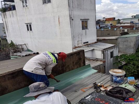 Dịch vụ sửa chữa nhà chống dột tại TPHCM