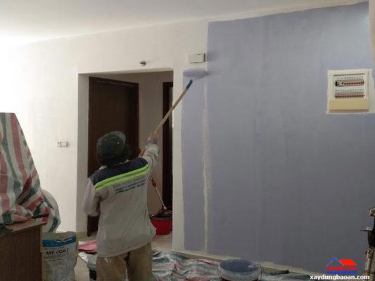 sơn nhà bao nhiêu tiền 1m2