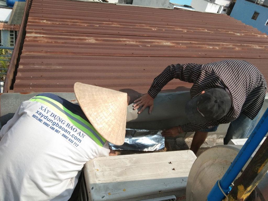 Dịch vụ chống thấm sân thượng tại quận 11