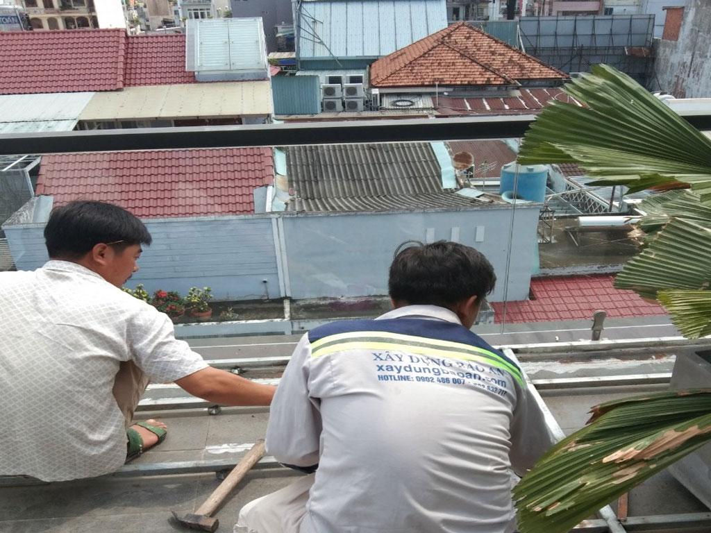 Dịch vụ chống thấm sân thượng tại quận 12