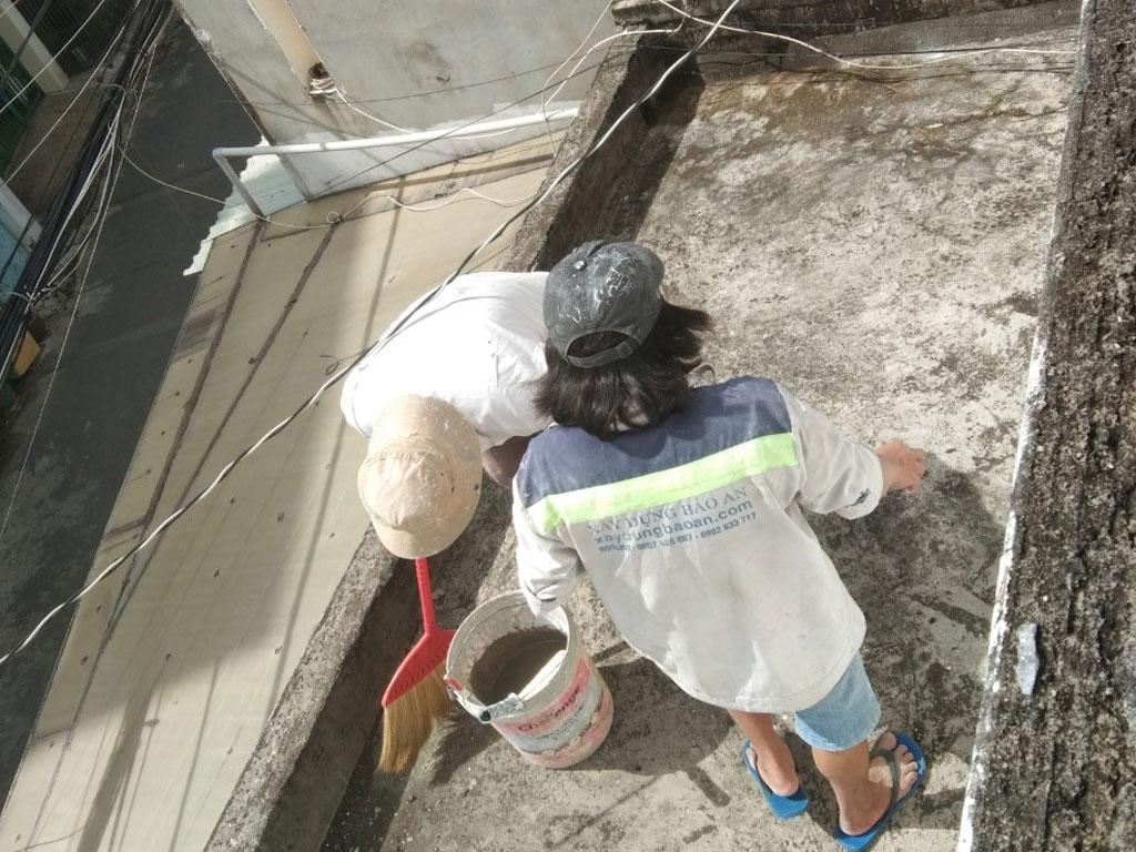 Dịch vụ chống thấm sân thượng tại quận 6