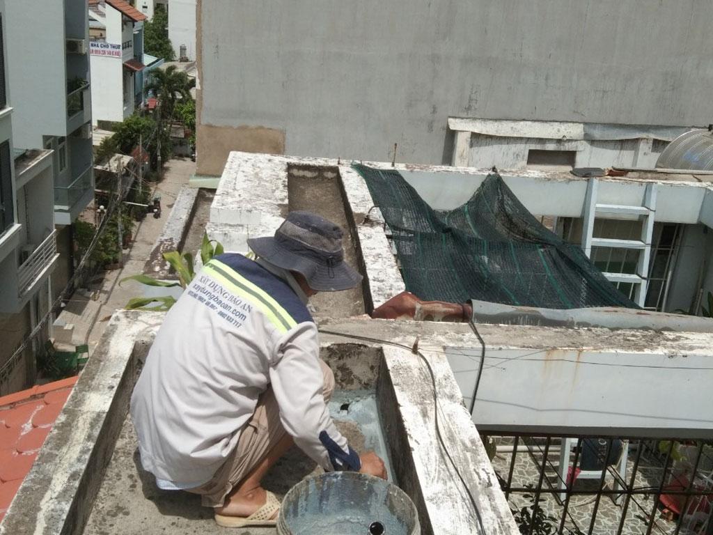 Dịch vụ chống thấm sân thượng tại quận 7