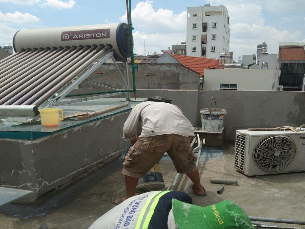Dịch vụ chống thấm sân thượng tại quận Bình Tân