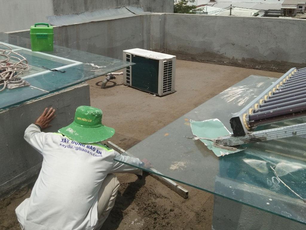 Dịch vụ chống thấm sân thượng tại quận Bình Thạnh