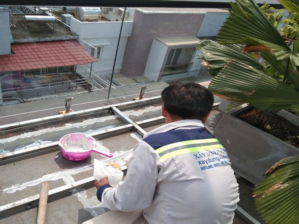 Dịch vụ chống thấm sân thượng tại quận gò vấp