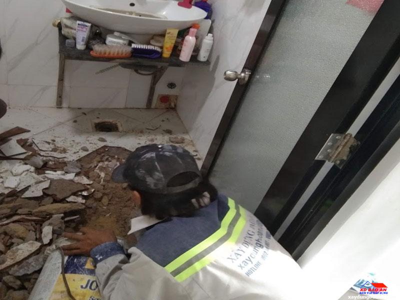 Công trình chống thấm nhà vệ sinh quận Bình Tân