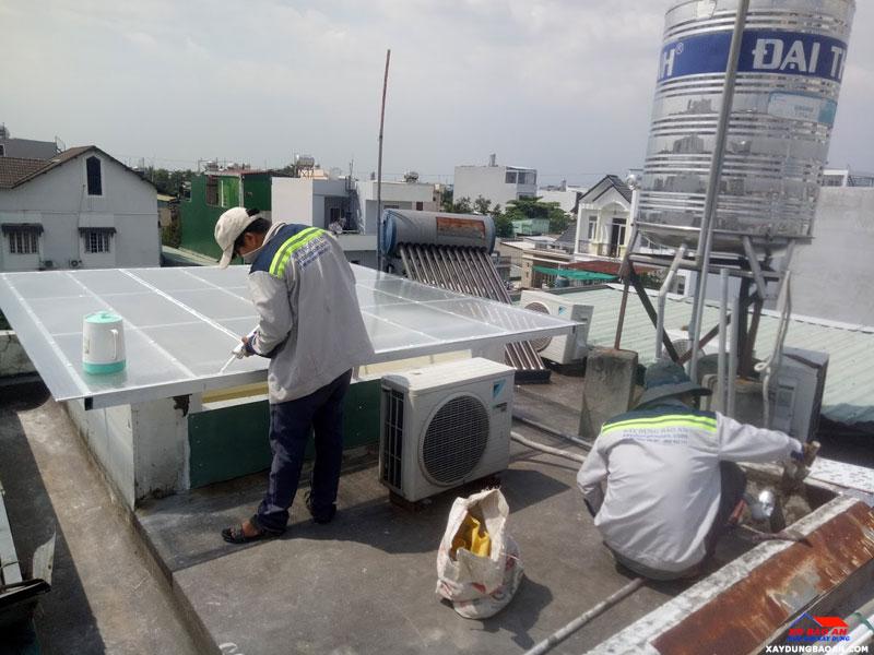 Công trình chống thấm nhà vệ sinh quận Bình Thạnh