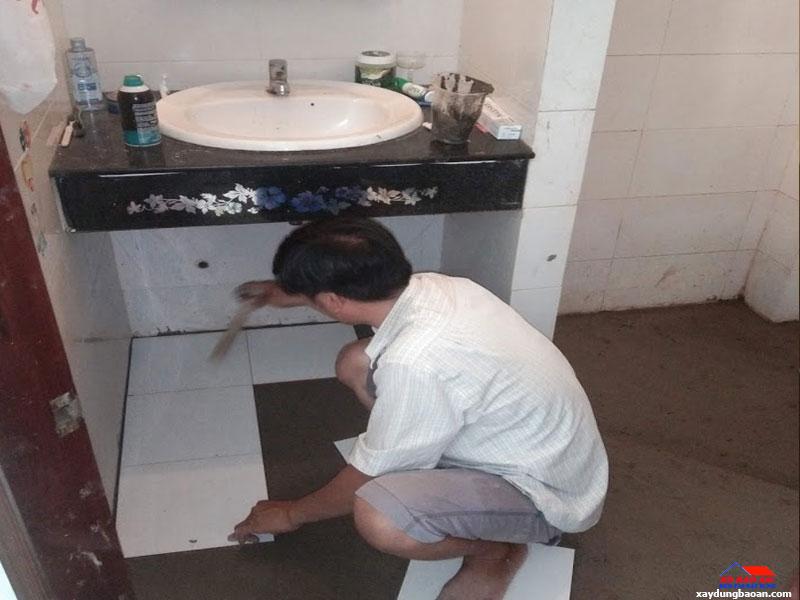 Công trình chống thấm nhà vệ sinh quận Tân Bình