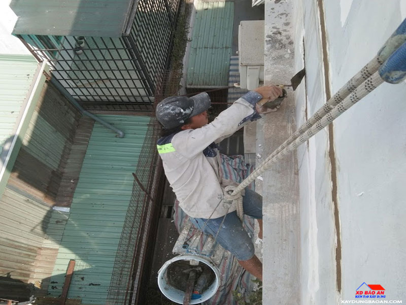 Công trình chống thấm tường quận 4