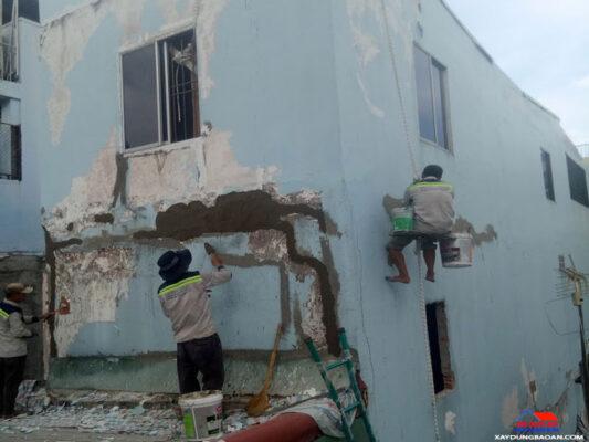 Công trình chống thấm tường quận 5