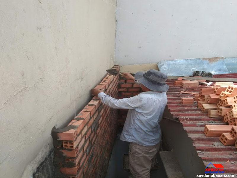 Công trình chống thấm tường quận 6