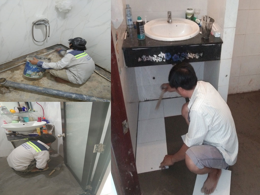 chống thấm nhà vệ sinh nhà trọn gói