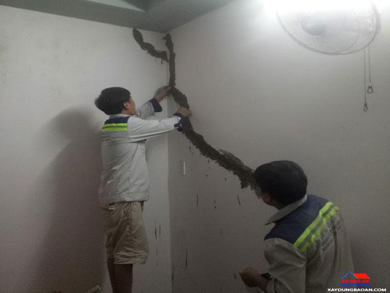Công trình thợ chống thấm tường quận 9
