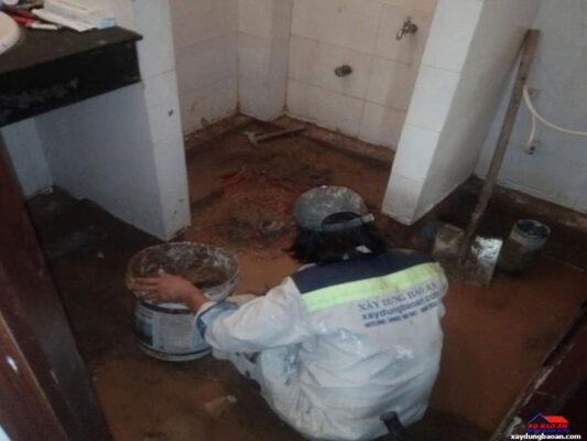 Công trình chống thấm nhà vệ sinh quận 11