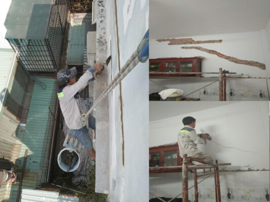 Báo giá dịch vụ xử lý nứt tường nhà ở Tp.HCMBáo giá dịch vụ xử lý nứt tường nhà ở Tp.HCM
